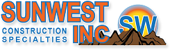 Sunwest Construction Specialties Inc, Logo