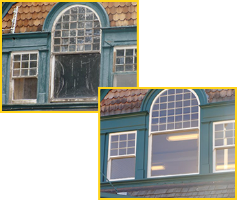 Window Restoration Before and After